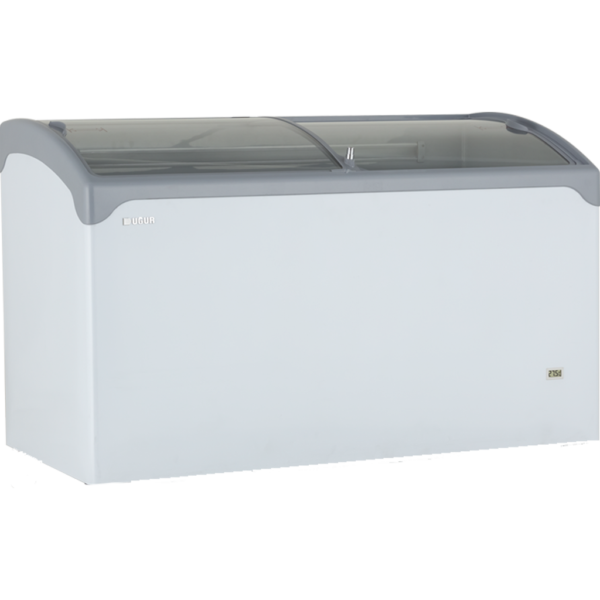 Uğur UDD 400 SCEBN Yatay Plastik Çerçeveli Sürme Camlı Muhafaza Dolabı